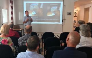 Manuel Alves Martins gästföreläser om AI på Premiums Framtidsdag